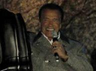 Arnold Schwarzenegger : Invité surprise d'une cérémonie dans son pays natal