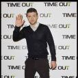 Justin Timberlake en promo pour Time Out, à Paris, le 4 novembre 2011.