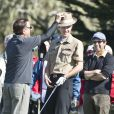 Andy Garcia au Monterey Peninsula Country Club lors du AT&T National Pro Am de Pebble Beach le 7 février 2013