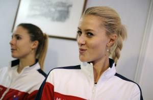 Kristina Mladenovic: Ambiance garantie grâce à la jeune pépite d'Amélie Mauresmo