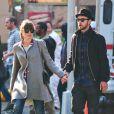 """Jessica Biel et Justin Timberlake, jeunes mariés, se rendent au cinema voir le film """"Skyfall"""" à New York, le 11 novembre 2012."""