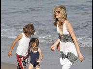 PHOTOS : Laura Dern avec les enfants à la plage pendant que Ben Harper s'amuse à Londres !
