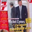 Michel Cymes en couverture de Télé 7 Jours en kiosques le 18 février 2013
