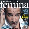 Jean Dujardin en couverture du Version Femina en kiosque le 18 février 2013.