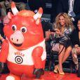 Beyoncé et une amie lors du All Star Game 2013 qui se déroulait à Houston le 17 février 2013