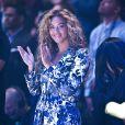Beyoncé lors du All Star Game de Houston le 17 février 2013