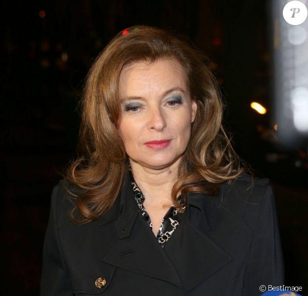 Valerie Trierweiler à Paris le 27 Janvier 2013.