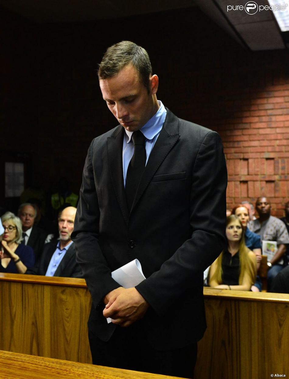 Oscar Pistorius Oscar Pistorius au tribunal d'instance de Pretoria, deuxième jour d'audience pour sa demande de libération sous caution, le 20 février 2013.