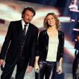 """Exclu - Johnny Hallyday, Shy'm et Lorie à l'enregistrement de l'émission """"Samedi, on chante Jean-Jacques Goldman"""" pour TF1, à Paris le 17 décembre 2012"""