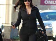 Kim Kardashian, plus dodue que jamais, future maman d'une petite fille ?