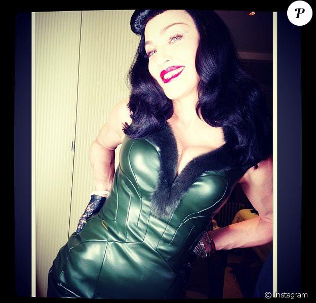 Madonna en Joseph Altuzarra sur Instagram, février 2013.