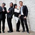 André Manoukian, Maurane, Sinclair et Olivier Bas, jurés de Nouvelle Star