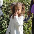 Halle Berry va chercher sa fille Nahla à l'école à Los Angeles, le 25 février 2013.
