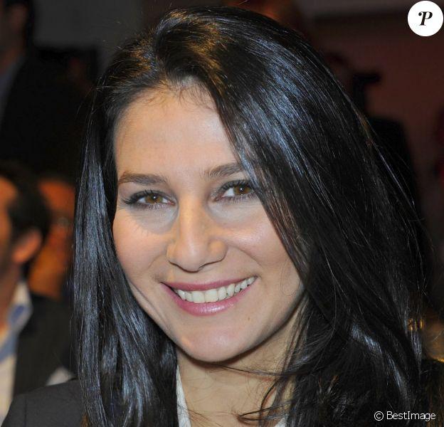 Marie Drucker lors de la conférence de rentrée de RTL à Paris le 6 septembre 2012