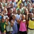 Visite du prince Harry au Lesotho avec Sentebale, le 27 février 2013