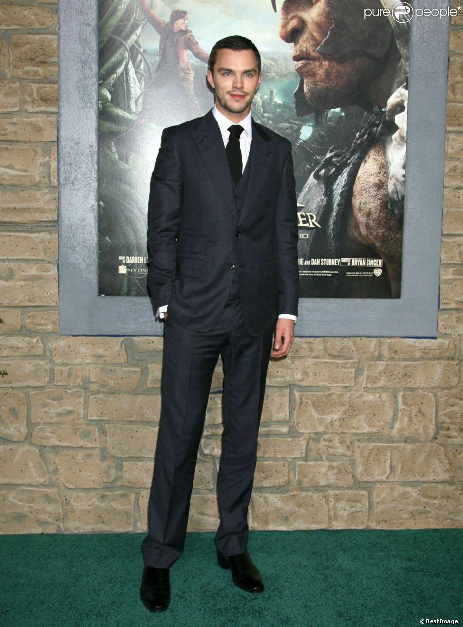 Nicholas Hoult lors de l'avant-première du film Jack, le chasseur de géants à Los Angeles le 26 février 2013
