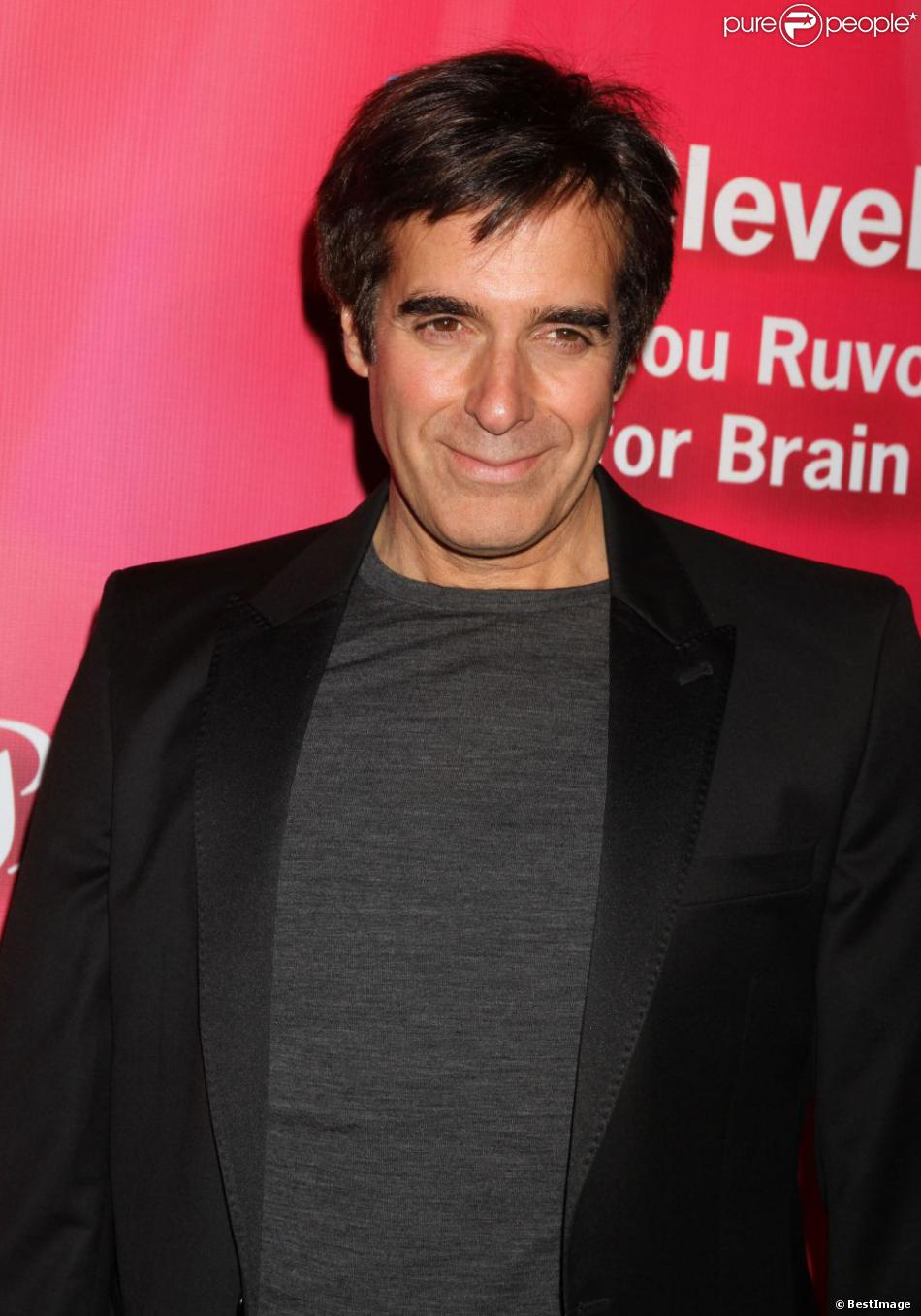 David Copperfield à Las Vegas, le 18 février 2012.