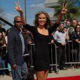 Heidi Klum, magnifique, arrivant aux premières auditions d'America's Got Talent, à la Nouvelle Orleans, le lundi 4 mars 2013.
