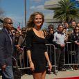 Heidi Klum, rayonnante, arrivant aux premières auditions d'America's Got Talent, à la Nouvelle Orleans, le lundi 4 mars 2013.