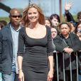 Heidi Klum arrivant aux premières auditions d'America's Got Talent, à la Nouvelle Orleans, le lundi 4 mars 2013.