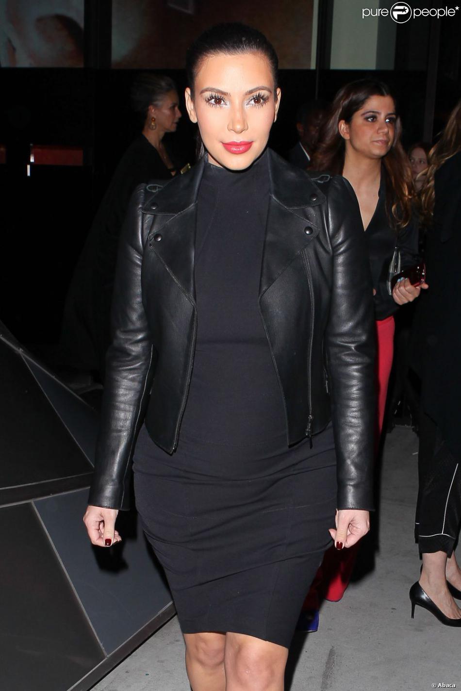 Kim Kardashian le 24 février 2013 à Los Angeles.