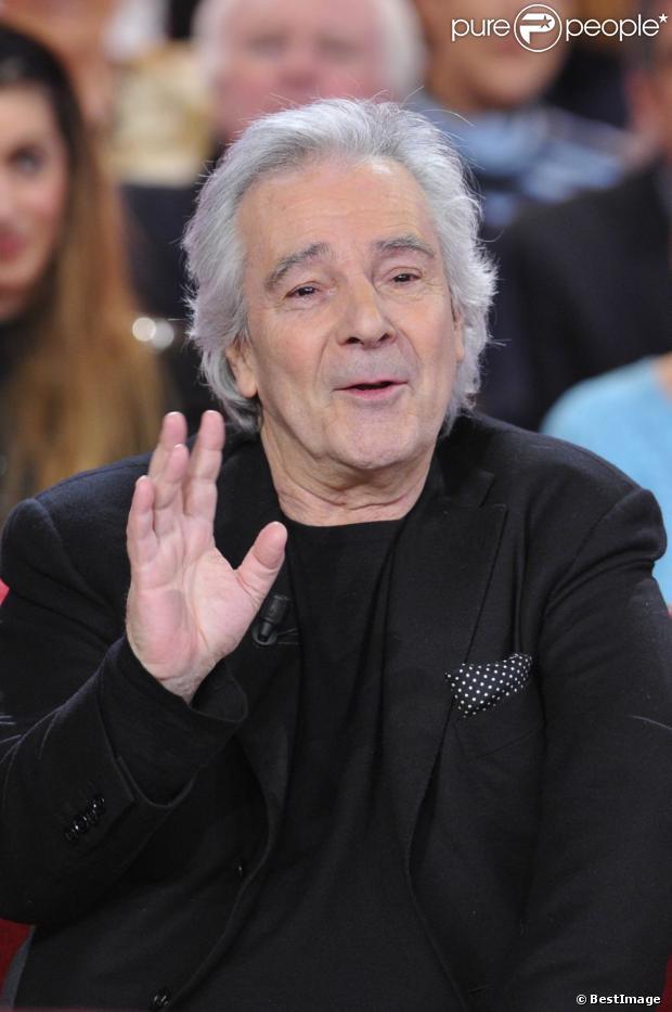 Pierre Arditi à Paris le 27 février 2013.