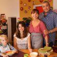 Toutes les photos de Clem saison 3 sur TF1 - La famille de Clem au complet portée par Lucie Lucas, Victoria Abril et Laurent Gamelon