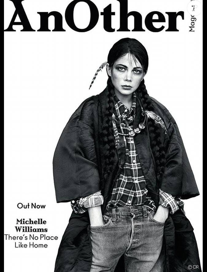 michelle williams en couverture de another magazine dans. Black Bedroom Furniture Sets. Home Design Ideas