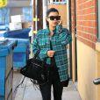 Kim Kardashian en février 2013 à Los Angeles très lookée pour une séance de sport