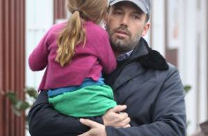 Ben Affleck : Papa câlin et complice avec sa petite Seraphina