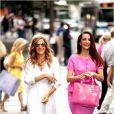 Sarah Jessica Parker et Kristin Davis dans Sex and The City