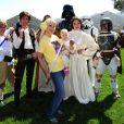 Tori Spelling a organisé une fête costumée dans le thème Star Wars pour les 6 ans de son fils Liam, à Los Angeles, le 16 mars 2013.
