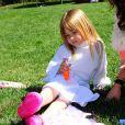 Stella la fille de Tori Spelling à la une fête costumée dans le thème Star Wars organisée pour les six ans de son frère Liam, à Los Angeles, le 16 mars 2013.