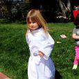 Stella, la fille de Tori Spelling à la fête costumée dans le thème Star Wars pour les six ans de son frère Liam, à Los Angeles, le 16 mars 2013.
