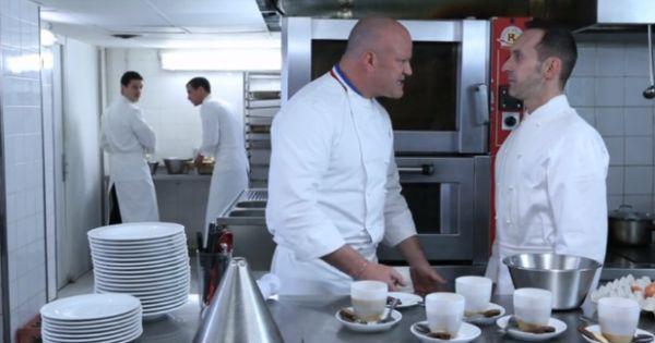 Philippe etchebest s 39 en prend un pauvre cuisinier qui for Cuisinier sur tf1