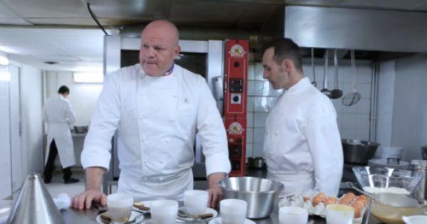 Philippe etchebest s 39 en prend un pauvre cuisinier qui a for Cuisinier sur tf1
