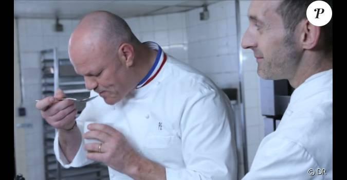 Philippe etchebest s 39 en prend un pauvre cuisinier for Cuisinier sur tf1