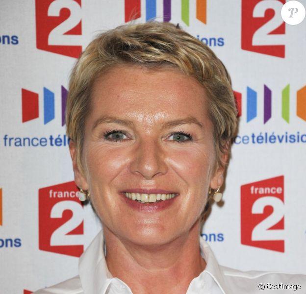 Elise Lucet en septembre 2011 à Paris