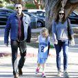 Ben Affleck et Jennifer Garner vont chercher leur fille Violet au basket à Brentwood, le 21 mars 2013.