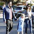 Ben Affleck et Jennifer Garner à Brentwood, le 21 mars 2013.