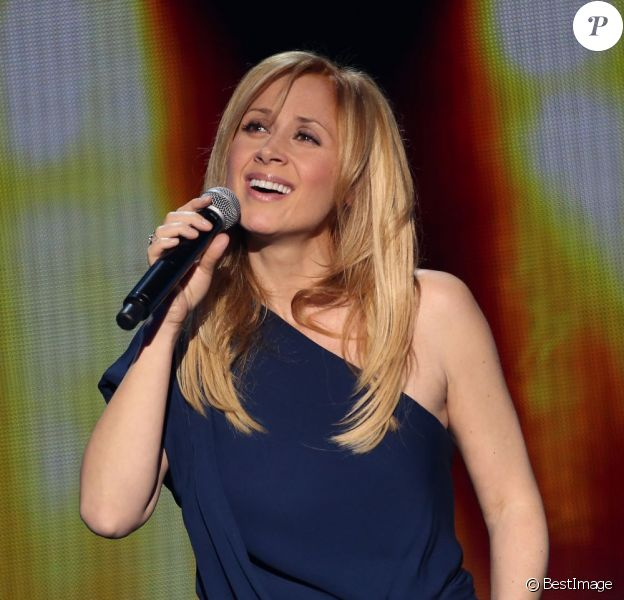 "Exclusif - Lara Fabian - Enregistrement de l'emission ""Hier Encore"" N°2 a l'Olympia a Paris, qui sera diffusee le 2 mars. Le 10 janvier 2013 09/01/2013 - Paris"