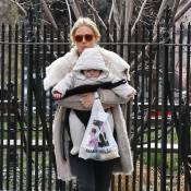 Sienna Miller : Virée emmitouflée, instants câlins avec sa petite Marlowe