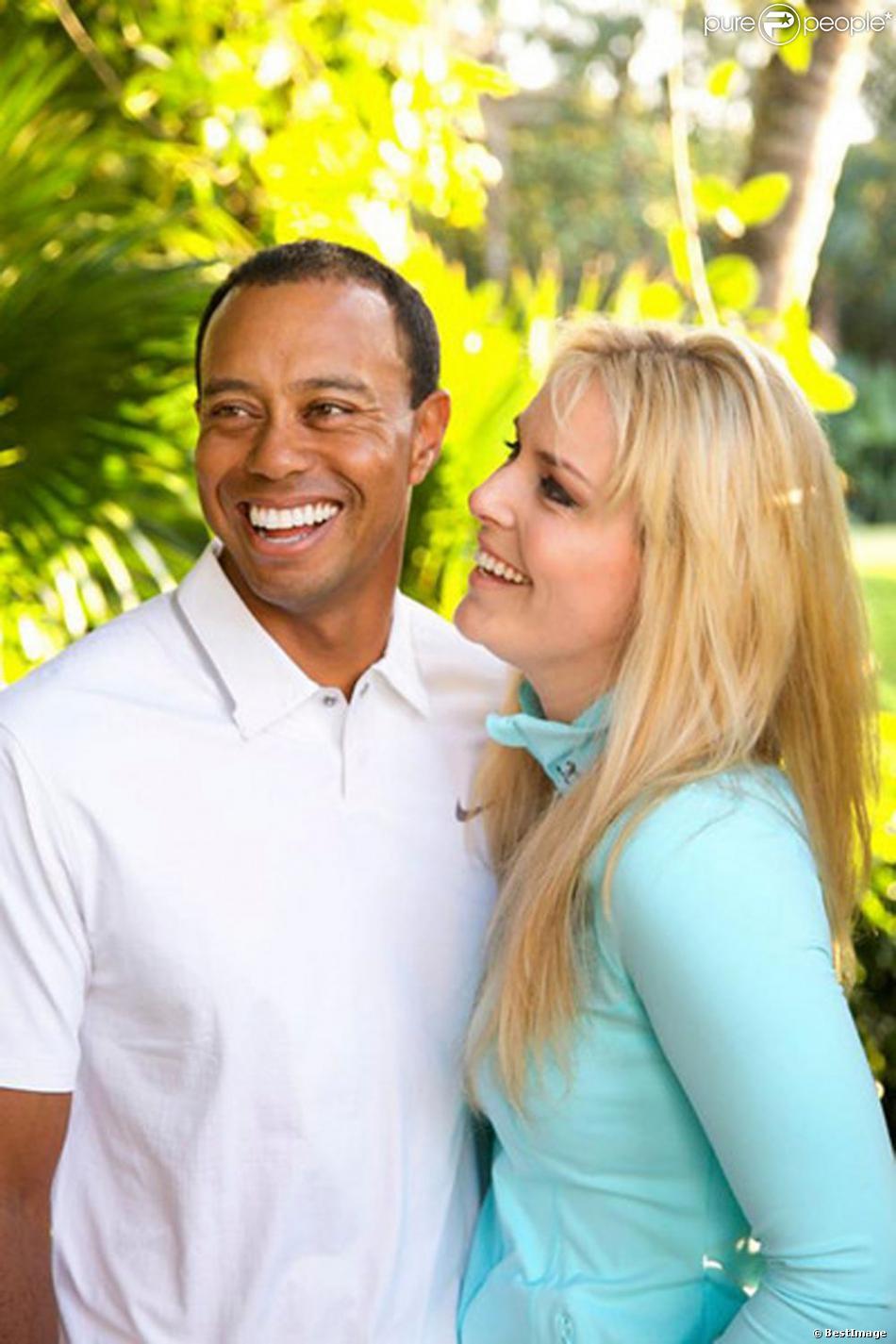 Tiger Woods et Lindsey Vonn officialisent leur relation le 18 mars 2013.