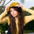 Selena Gomez pose pour DKNY Jeans, Los Angeles, le 1er août 2008.