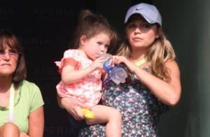 Tommy Haas : Sa femme Sara et leur fille Valentina se régalent de ses exploits
