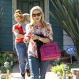 Reese Witherspoon se promène à Los Angeles, le 14 mars 2013