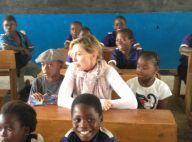 Madonna avec David et Mercy au Malawi... loin de son frère toujours SDF