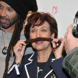 Roselyne Bachelot - Lancement du nouvel opus de Bob Sinclar intitulé Paris by Night à la Gaîté Lyrique à Paris le 2 avril 2013.