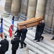 Obsèques d'Élisabeth de Gaulle: Ses proches et Valéry Giscard d'Estaing en deuil