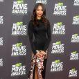 """Zoe Saldana aux MTV Movie Awards à Los Angeles, le 14 avril 2013."""